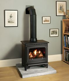 Country or city, traditional or contemporary, the innovative Gas has the flexibility to suit your lifestyle and your decor. Gas Fire Stove, Gas Stove Fireplace, Wood Burner Fireplace, Gas Fires, Fireplace Ideas, Gas Wood Burner, Wood Burning Logs, Log Burning Stoves, Electric Log Burner