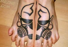 Extremely fantastic top of the foot tattoos | Packet of world