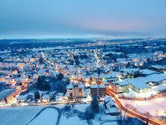 Der #Winter kommt zurück! #schnee #Rheingau #walluf #Rhein #gutenacht #drohne #djispark