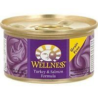Wellness Turkey and Salmon Formula Cat Food 6 cans-3oz Each >>> To view further for this article, visit the image link.