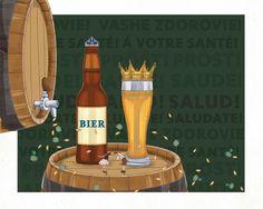 LA CERVEZA CLÁSICA ALEMANA 2 - EN E128 - Set. 2015 Ants, Champagne, Drinks, Bottle, Health, Ale, Beer, Drinking, Beverages