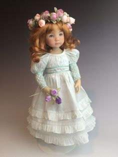 Dianna Effner Little darling By Geri Uribe In Boneka Dress