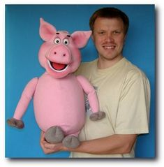 Pigster Pig puppet, Puppet for sale