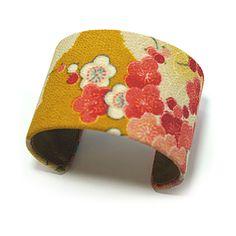 Kimono Cuff Pink Blossom by Maiko Girl