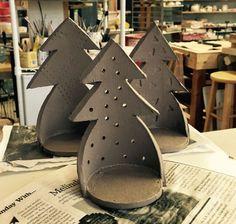 holiday luminaries in making - for ordering contact us at Etsy shop LaBote at surprisesaffron@gmail.com: