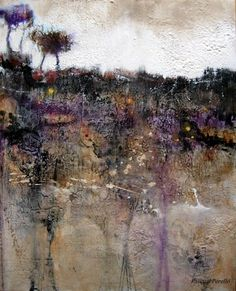 """Nowhere landscape"" by Pedro Pascual Perello - Mixed media on canvas"