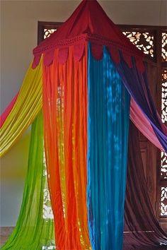 Mosquitera de colores
