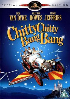 Chitty Chitty Bang Bang. A hapless inventor finally finds success with a flying car, which a dictator from a foreign government sets out to take for himself. So. Much. Fun. Great songs and Dick van Dyke in his absolute prime.