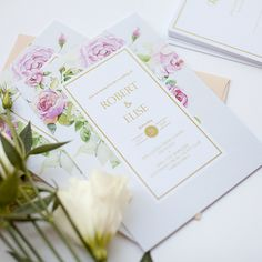 Wedding Invitations By Paperlust Botanical Wedding Invitations, Wedding Invitations Online, Wedding Invitation Inspiration, Engagement Invitations, Baby Shower Invitations, Birthday Invitations, Rose Wedding, Wedding Sets, Wedding Cards