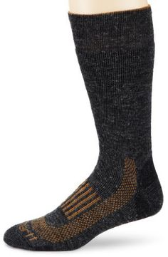 Carhartt Men's Triple Blend Thermal Crew Socks, Charcoal, Large Carhartt. $13.00. Cold weather. Machine Wash. Anti-odor technology. Contains wool. 42% Acrylic/34% Polar Fil Polyester/19% Wool/4% Nylon/1% Lycraspandex. Contains polar fil