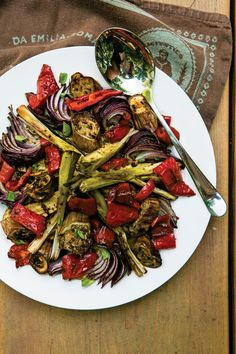 Mario Batali's Vegetable Salad - Capri Style