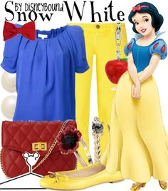 Wondering what clothes to wear to Disney? These are my suggestions for cute and comfy clothes to wear at Disney with tips from head to toe! Disney Dress Up, Disney Themed Outfits, Disney Bound Outfits, Cute Disney, Disney Style, Moda Disney, Snow White Outfits, Disney Inspired Fashion, Disney Fashion