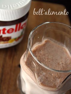 Nutella Milk - brilliant idea and one which will probably cause battles in our house! 1 x Empty Jar of Nutella pop in some milk give it a good shake and knowing my kids drink straight from the jar!!!
