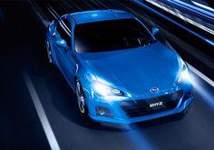 The Blue Prince, 2013 Subaru BRZ Sports Car.