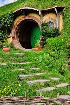 Hobbit houses really do exist!