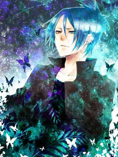 anime heterochromia / odd eyes red blue (Rokudo Mukuro katekyo hitman reborn)