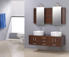 Wall Mounted Cabinets For Bathroom