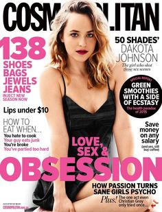 Dakota Johnson, Cosmopolitan Magazine [Australia] (April 2015)