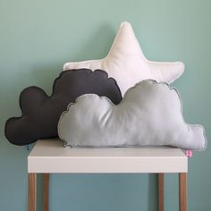 Dark cloud cushion soft pillow for kids .and big by LaliyBela Kids Pillows, Soft Pillows, Cloud Cushion, Backrest Pillow, Kids Room, Dinosaur Stuffed Animal, Cushions, Nursery, Clouds