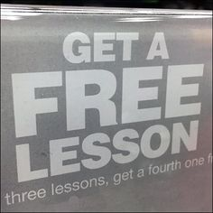 What better way to encourage sales than a Free Guitar Lesson Gift Card Promotion that also serves as entry and membership card.