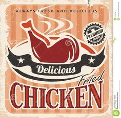 vintage-fried-chicken-poster-design-vector-retro-background-food-template-31578768.jpg (1325×1300)