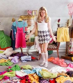 "11 Style Lessons Learned From Clueless: lesson #1 you can't be wrong when your outfit is right   ""Where's my white collarless shirt fron Fred Segal? It's my most capable looking outfit! Cher"