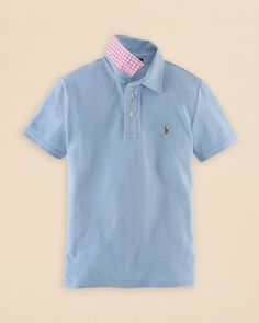 Ralph Lauren Childrenswear Boys' Solid Featherweight Polo Shirt - Sizes S-xl