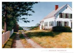 House on Main Street by Gretchen huber Warren