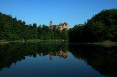 ...nad Zalewem  Leśniańskim, zamek Czocha, Poland