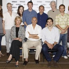 Allison Jean White, John Hickok, Maria Aitken, Virginia Kull, Brian Hutchison, Frank Langella, Zach Grenier, Adam Driver, Michael Siberry, Vayu O'Donnell, Fran in Meet and Greet with The Cast of The Broadway Production of Man and Boy