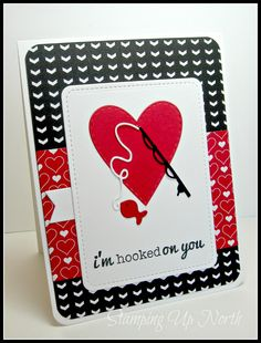 stamping up north: Hooked on you!