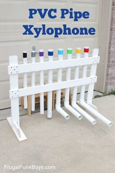 How to Make a PVC Pipe Xylophone Instrument