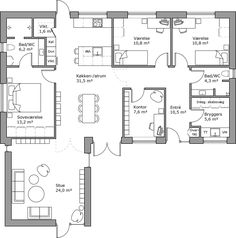 Layouts, House Plans, Floor Plans, Flooring, How To Plan, Architecture, Inspiration, Home, Beds