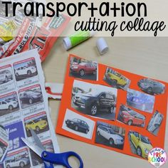 Road Number Mat FREEBIE plus my go to Transportation themed math writing fine motor sensory reading and science activities for preschool and kindergarten. Transportation Preschool Activities, Transportation Activities, Car Activities, Preschool Themes, Preschool Lessons, Classroom Activities, Preschool Crafts, Cars Preschool, Classroom Ideas