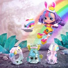 Ooh, look who we stumbled into—the Shimmery Unicorns Shopkins! Shopkins Unicorn, Shopkins Art, Shoppies Dolls, Shopkins And Shoppies, Lol Dolls, Barbie Dolls, Shopkins Bedding, Cute Lipstick, Mermaid Wallpapers