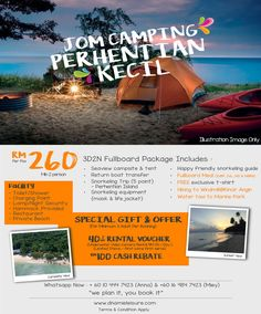 Pulau Perhentian - Petani Beach Camping Beach Camping, Campsite, Snorkeling, Outdoor Gear, Islands, Tent, Hiking, Image, Diving