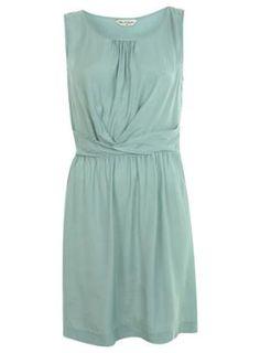 Mint Wrap Waist Pintuck Dress - New In - Miss Selfridge US $57