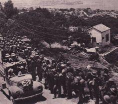 ΧΑΝΙΑ 1941 ΟΔΟΣ ΑΚΡΩΤΗΡΙΟΥ!! Αγγλοι αιχμαλωτοι !!