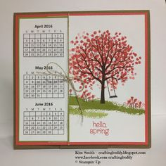Crafting Buddy: OSAT Blog Hop - No Rules New Year - SU - Calendar Idea - view site for all