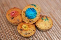 Mini Muffins à l'Orange et au Chocolat - M&M's - Chocolate - Orange - Dessert - Cooking - Cuisine - Cook - Home-made - Muffins orange chocolat - Chocolate - Cakes - Recipe