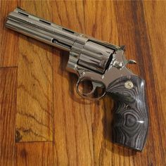 You're not bulletproof... — Colt Anaconda Although the Anaconda is known...