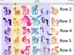 Pinkie is an earth pony and fluttershy is a Pegasus