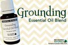 This Grounding Essential Oil Blend is great for #meditation and #healing: http://biosourcenaturals.com/blog/2015/02/grounding-essential-oil-blend-aromatherapy/