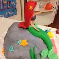 little mermaid cake!!!
