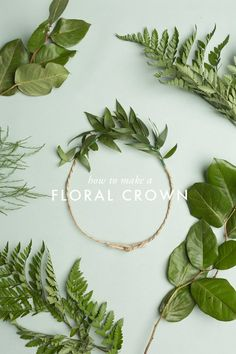 There's nothing more magical, earthy, ephemeral than a floral crown and you…