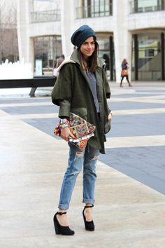 Daily Outfit Idea: Exactly How To Wear Your Boyfriend Jeans This Weekend, Courtesy Of Man Repeller, Leandra Medine
