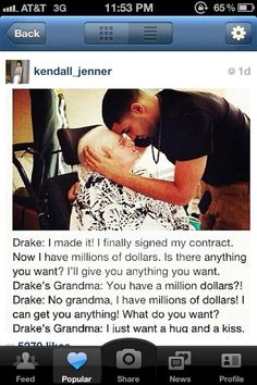 Drizzy Drake discovered by mario on We Heart It I Smile, Make Me Smile, Money Isn't Everything, Aubrey Drake, Drake Quotes, Qoutes, I Love Him, My Love, Favim