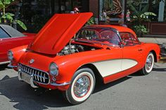 1957 Chevrolet Corvette Roadster with Removable Hardtop