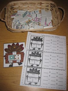 Erica's Ed-Ventures: Common Core Based Thanksgiving Math Centers