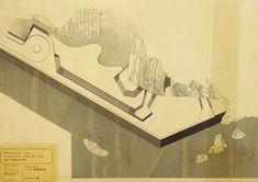 Peine del Viento's mock ups by Eduardo Chillida. #eduardochillida #chillida #peinedelviento #combofthewind #comb #wind #sea #coast #rocks #sansebastian #donostia #basque #artist #artisan #craft #craftsmanship #sculpture #drawing #mockup #prototype #minimalist #metalart #metalsculpture #designprocess #manufacturingprocess #industrialdesign #art #design Abstract Words, Corten Steel, Design Process, The Rock, Metal Art, Vintage World Maps, Mockup, Sculpture, Drawings